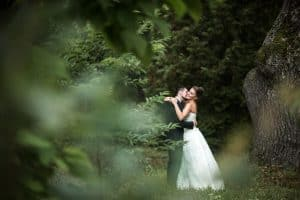 חתונה בשטח חקלאי