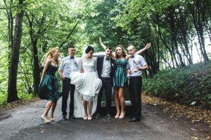 חתונה בטבע ביער